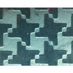 H0 00190704 VIRGILE Turquoise Scalamandre Fabric
