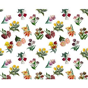 N4 0001ETUD ETUDES DE FLEURS Brights Scalamandre Fabric