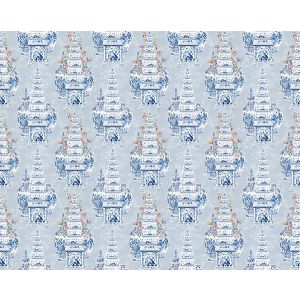 N4 0002MAST MASTERPIECES TULIP Gray Scalamandre Fabric