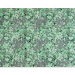 N4 0003ROSE ROSE TRELLIS Charcoal Green Scalamandre Fabric