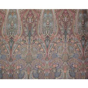 SB 00027811 LIVONIA Black Multi Old World Weavers Fabric