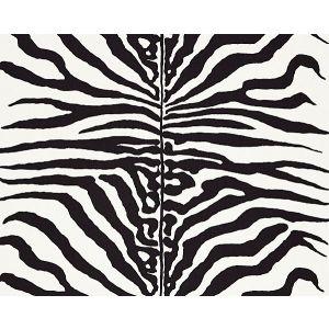 16366M-001 ZEBRA Black Scalamandre Fabric