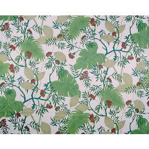16529-001 MALIBU Tropical Greens Scalamandre Fabric