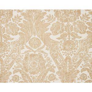 16557-001 LUCIANA DAMASK PRINT Sand Scalamandre Fabric