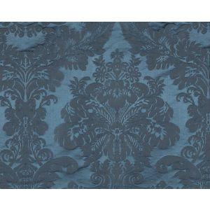 20339M-001 XVIII CENTURY GEORGIAN Persian Blue Scalamandre Fabric