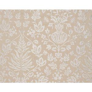 27032-001 SHALIMAR EMBROIDERY Sand Scalamandre Fabric