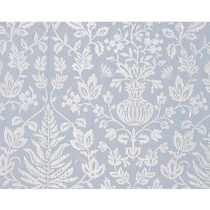 27032-002 SHALIMAR EMBROIDERY Sky Scalamandre Fabric