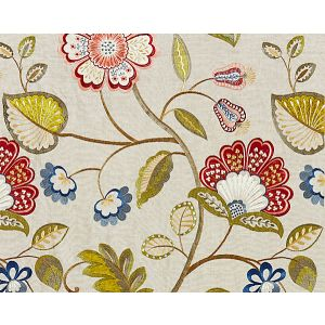 27071-002 WILLOWOOD EMBROIDERY Bloom Scalamandre Fabric