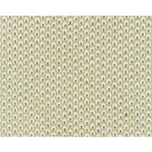27123-002 FLEUR EMBROIDERY Celery Scalamandre Fabric