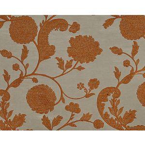 26849-003 BOMBAY LACE Copper On Titanium Scalamandre Fabric