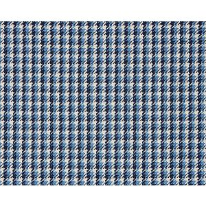 27013-005 TATTERSALL CHECK Indigo Scalamandre Fabric