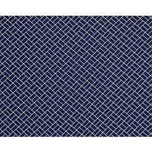 27065-005 DOMINO Indigo Scalamandre Fabric