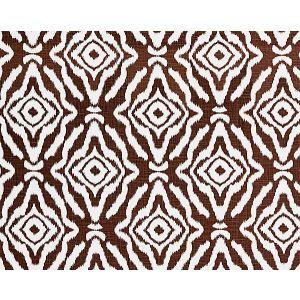 16554-006 ZANZIBAR Espresso Scalamandre Fabric
