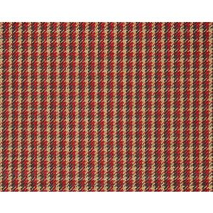 27013-006 TATTERSALL CHECK Tuscan Red Scalamandre Fabric