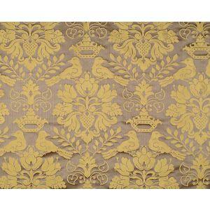 1098MM-013 LOVE BIRD Chocolate Gold Scalamandre Fabric