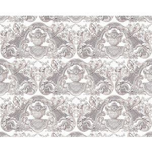 WNM 0001WMMY WILLIAM & MARY French Gray Scalamandre Wallpaper