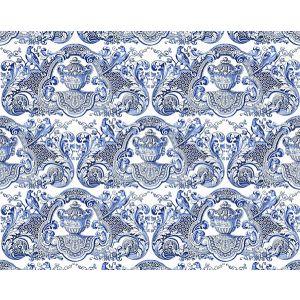 WNM 0002WMMY WILLIAM & MARY Blue Scalamandre Wallpaper