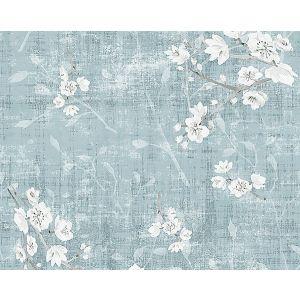 WNM 1044BLOS BLOSSOM FANTASIA Slate Scalamandre Wallpaper