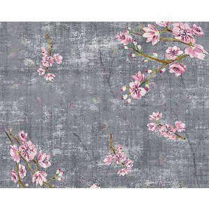 WNM 1049BLOS BLOSSOM FANTASIA Charcoal Scalamandre Wallpaper