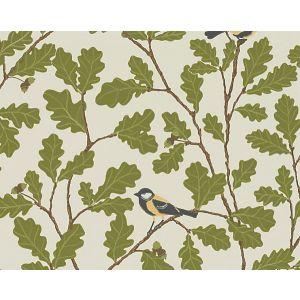 WSB 00190471 WALDEMAR Beige Green Brown Sandberg Wallpaper