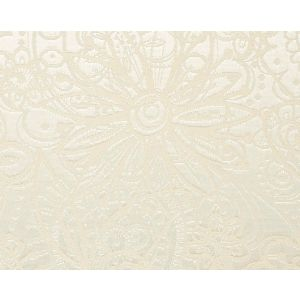 WTT 651400 PRINCESS LACE SILKY Ecru Scalamandre Wallpaper