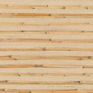 53-65660 Riku Grasscloth Beige Brewster Wallpaper
