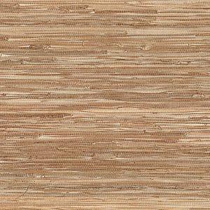 53-65670 Sora Grasscloth Taupe Brewster Wallpaper