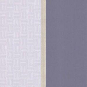 310811 Geo Square Stripe Purple Brewster Wallpaper