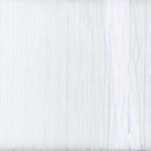 SINGLE WICK White Carole Fabric