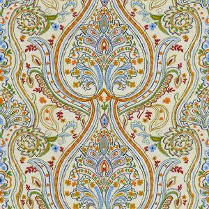 2015128-549 ROUEN Blue Red Lee Jofa Fabric