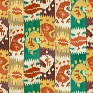 2015139-243 HARRY VELVET Rust Emerald Lee Jofa Fabric