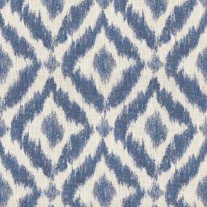 2015142-50 LYRA Ivory Oyster/Sapphire Lee Jofa Fabric