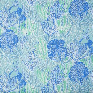 2016111-513 LET'S CHA CHA Shorely Blue Lee Jofa Fabric