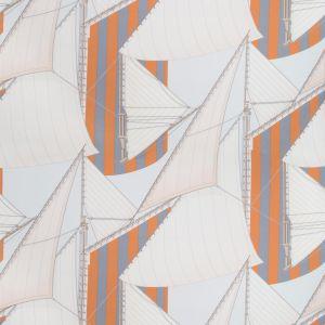 2018136-225 ST TROPEZ PRINT Slate Spice Lee Jofa Fabric