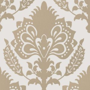 GWP-3401-16 MALATESTA DAMASK Stone Groundworks Wallpaper