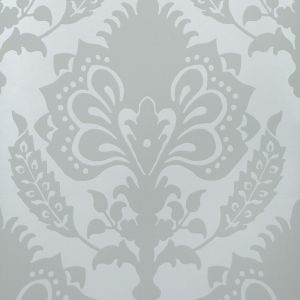 GWP-3401-313 MALATESTA DAMASK Sea Glass Groundworks Wallpaper