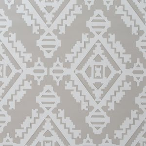GWP-3407-11 NAVAJO Dove Grey Groundworks Wallpaper