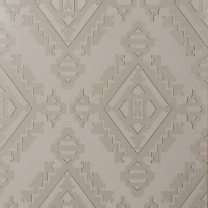 GWP-3407-611 NAVAJO Pewter Groundworks Wallpaper