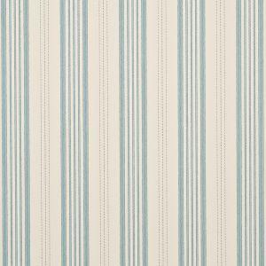 FG067-H120 NARROW TICKING STRIPE Powder Blue Mulberry Home Wallpaper