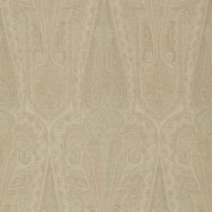 FG074-N102 TROIKA PAISLEY Sand Mulberry Home Wallpaper
