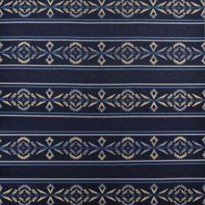 LCF66762F ARROWHEAD STRP BLANK Night Sky Ralph Lauren Fabric