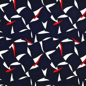 LCF67726F MONACO SAILS Signal Red Ralph Lauren Fabric