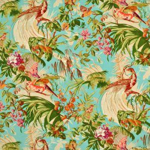 LCF68147F SANCTUARY FLORAL Aqua Ralph Lauren Fabric