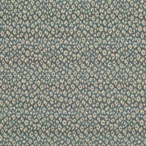 LCF68398F PERRYN IKAT Indigo Ralph Lauren Fabric