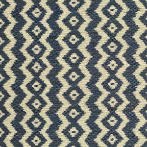 LCF68400F ESCONDIDO IKAT Indigo Ralph Lauren Fabric