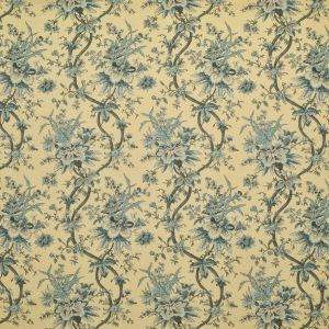LCF68455F YARMOUTH FLORAL Slate Blue Ralph Lauren Fabric