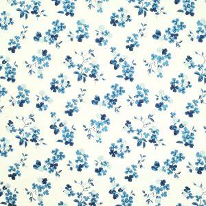 LCF68482F TREFOIL EMBROIDERY Porcelain Ralph Lauren Fabric
