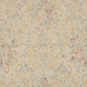 LFY66310F OLD HALL FLORAL Slate Ralph Lauren Fabric