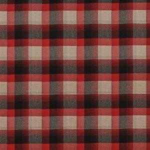 LFY66950F MARKET STREET PLAID Cardinal Ralph Lauren Fabric