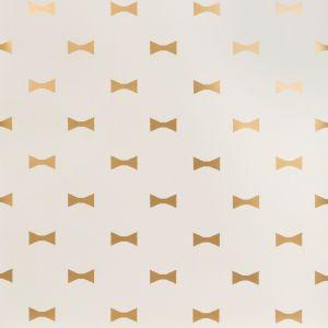 W3324-4 BOW TIES Gold Kravet Wallpaper